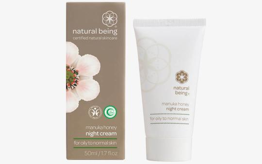 Natural Being Manuka Nachtcreme