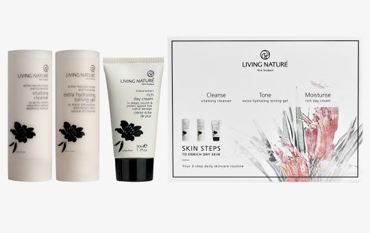 Skin Steps – To Enrich Dry Skin